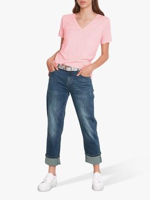 Hush Cotton Cali Slub V-Neck T-Shirt