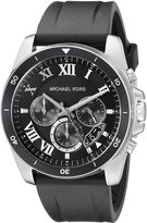 Michael Kors Men's Brecken Black Watch MK8435