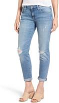Mavi Jeans Women's Ada Distressed Boyfriend Jeans