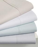 Hotel Collection 470 Thread Count Percale Supima Cotton Pair of King Pillowcases