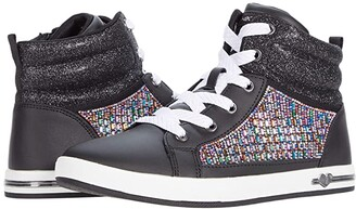 Skechers Street - Shoutouts Gem Seeker 310601L (Little Kid/Big Kid) (Black/Multi) Girl's Shoes