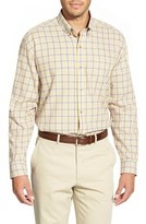 Cutter & Buck Men's Big & Tall 'Idaho Plaid' Classic Fit Cotton Twill Sport Shirt