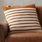 "CB2 Division Rust 20"" Pillow"