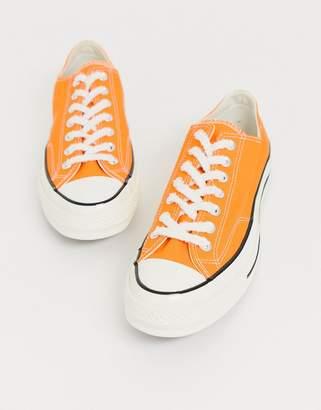 Converse Chuck 70 Ox trainers in orange