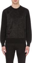 Alexander McQueen Skull-graphic cotton-blend sweatshirt