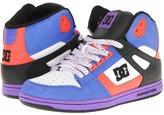 DC Rebound Hi W (Dazzling Blue/Hot Coral) - Footwear