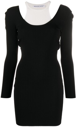 Alexander Wang Layered Sweater Dress