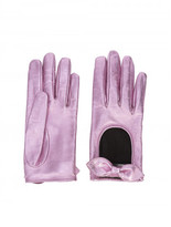 Gucci bow driving gloves