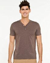 Le Château Cotton Blend Crew Neck T-shirt