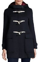 Burberry Baysfield 3-in-1 Duffle Coat w/ Removable Puffer, Navy