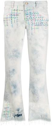 Alanui Contrast Stitch Jeans