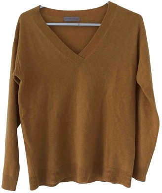 Princesse Tam-Tam Yellow Cashmere Knitwear for Women