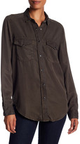 The Kooples Distressed Button Down Shirt