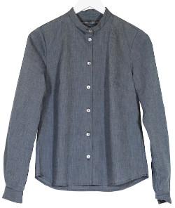 Melange Home Bric A Brac Bric-a-brac - Genarp Shirt Striped Blue EXTRA LARGE - Blue