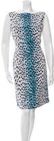 Christian Dior Cheetah Print Sleeveless Dress w/ Tags