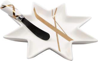 Salt&Pepper Salt & Pepper 2 Piece Bliss Star Platter & Pate Knife Set