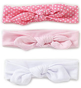 Starting Out Baby Girls 3-Pack Knotted Headbands