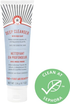 First Aid Beauty Pure Skin Deep Cleanser with Red Clay