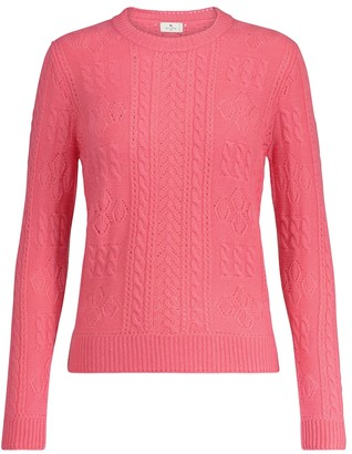 Etro Cable-knit wool sweater