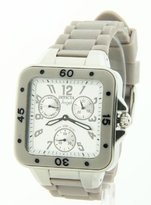 Invicta Women's 1291 Angel Collection Multi-Function Light Grey Rubber Watch