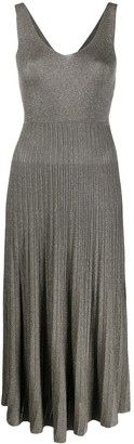 Roberto Collina Sleeveless Ribbed-Knit Dress