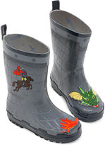 Kidorable Little Boys' Dragon Knight Rain Boots