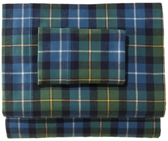 L.L. Bean Heritage Chamois Flannel Sheet Collection, Plaid