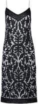 GANNI Colby Sequin-embellished Tulle Midi Dress