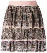 Cecilia Prado knit mini skirt - women - Viscose - P