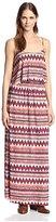 T-Bags LosAngeles tbagslosangeles Women's Popover Maxi Dress