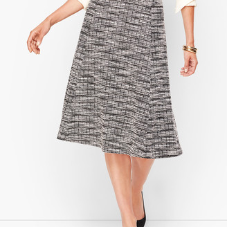 Talbots Knit Tweed Skirt