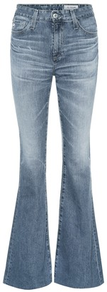 AG Jeans Quinne high-rise flared jeans