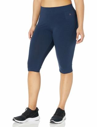 Danskin Women's Plus Size Capri Legging