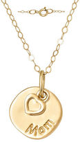 Lord & Taylor 14 Kt. Yellow Gold Layered Charm Necklace