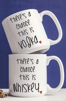 Cathy's Concepts 'There's A Chance' Ceramic Coffee Mugs