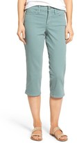 NYDJ Women's Marilyn Stretch Cotton Crop Pants