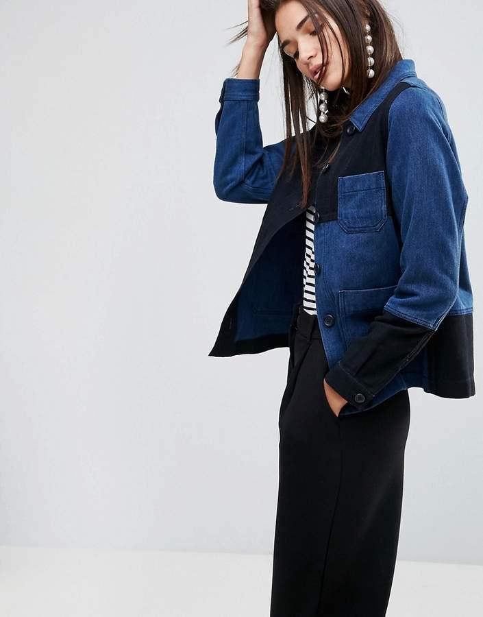 YMC Patchwork Workwear Jacket
