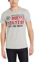 Diesel Men's Nola Graphic T-Shirt, Heather Grey