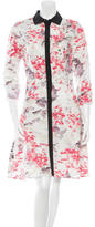 Prabal Gurung Floral Print Shirtdress