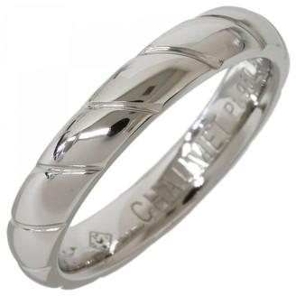 Chaumet Silver Platinum Rings