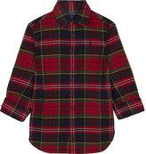 Ralph Lauren Tartan print cotton shirt