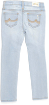 ZCO Light Blue Distressed Skinny Jeans - Girls