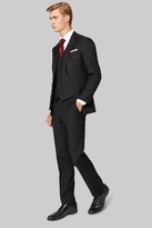 Hardy Amies Tailored Fit Black Clear Cut Jacket