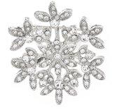 Merry & Bright Small Snowflake Pin