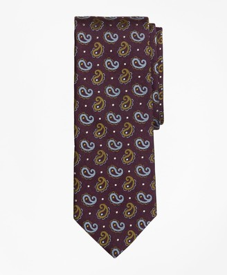 Brooks Brothers Pine and Dot Tie