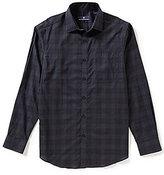 Hart Schaffner Marx Plaid Long-Sleeve Woven Shirt
