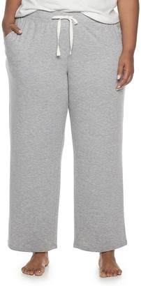 Sonoma Goods For Life Plus Size Core Pajama Pants