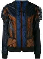 Maison Margiela mesh panel jacket
