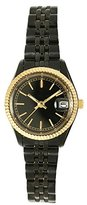 Pedre Women's 5445KX Sport Black Ion-Plated and Gold-Tone Watch