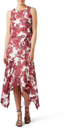 David Lawrence Paisley Soft Dress